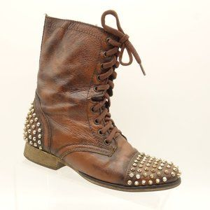 STEVE MADDEN Tarnney Above Ankle Boots Leather